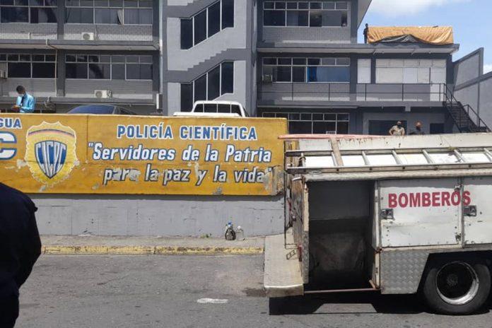 Reclusos prendieron fuego en calabozos del Cicpc de Acarigua para exigir traslado