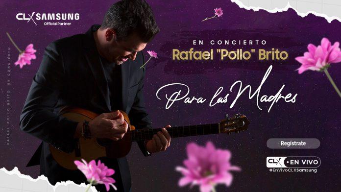 """Rafael """"Pollo"""" Brito enamorará a las madres en concierto virtual"""