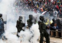muertos Colombia venezolanos Ministro