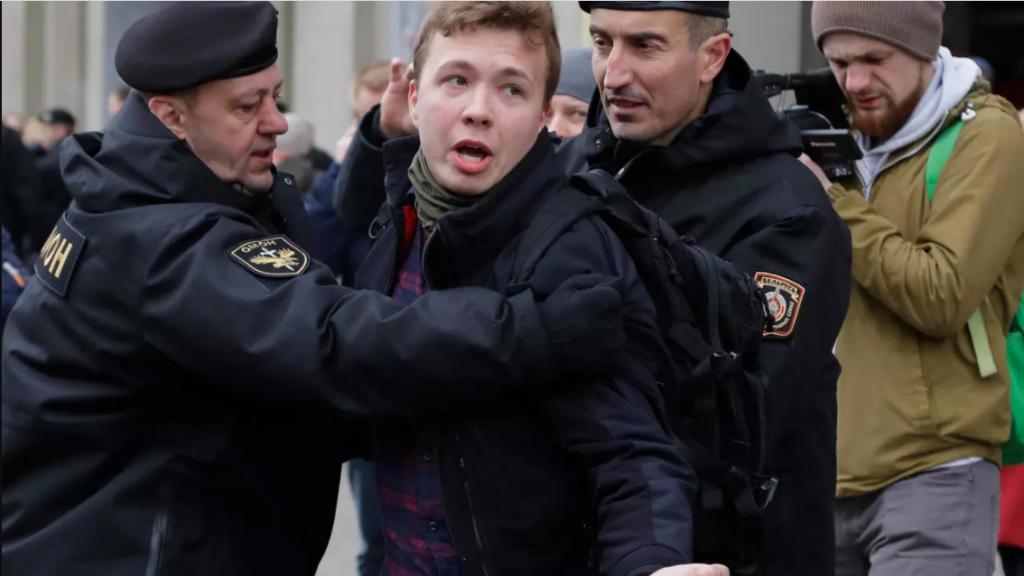 periodista bielorruso exiliado
