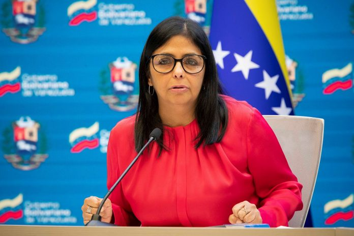 Delcy Rodríguez llama a mejorar la cooperación para el acceso de vacunas anticovid