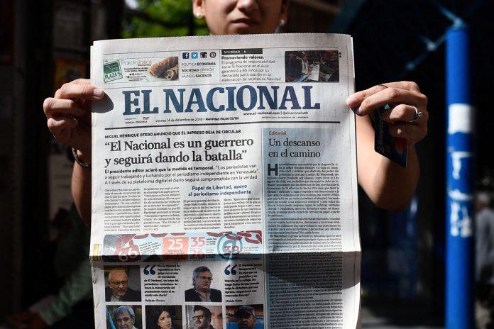 Bloque Constitucional de Venezuela rechazó el grotesco despojo de El Nacional de sus activos López Gil pidió a subcomisión del Parlamento Europeo fijar posición ante el embargo ilegal de la sede de El Nacional