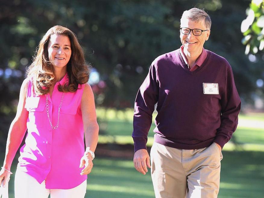 Bill Gates y Melinda anuncian su separación