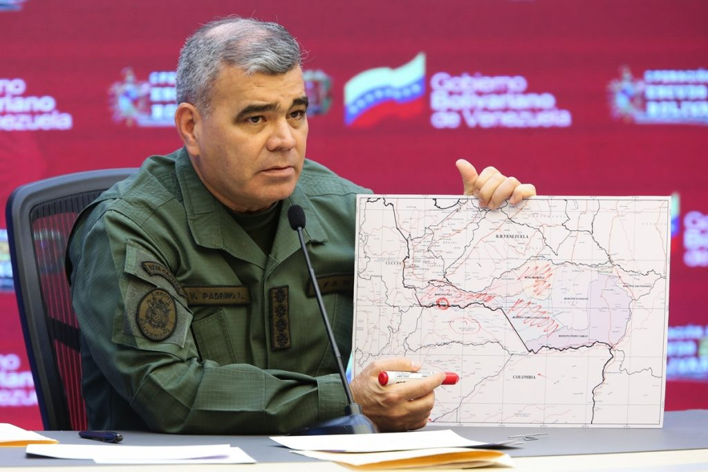 Guerrilleros pidieron a Padrino López cesar el fuego a cambio de entregar a militares secuestrados