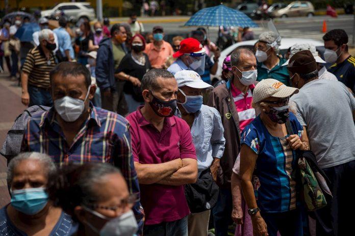 contagios venezuela