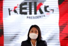 Keiko Fujimori, candidata presidencial