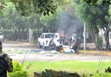 36 heridos por explosión de dos carros bombas dentro del batallón del Ejército en Cúcuta
