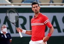 Roland Garros-Djokovic presión