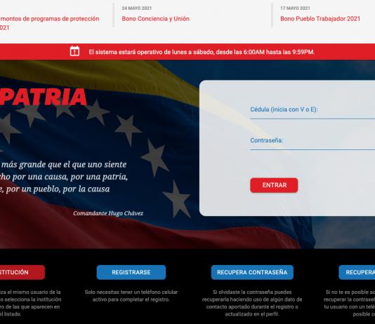 bono Venezuela se vacuna bono Alimentación y Transporte