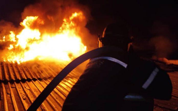 Incendio UCV