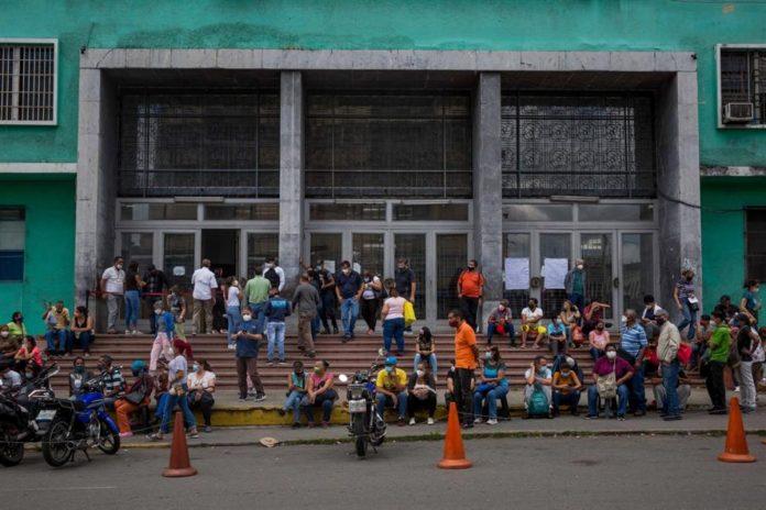 contagios de Covid-19, Venezuela, régimen reportó