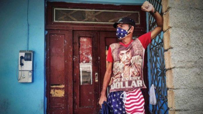 Protestas en Cuba embargo