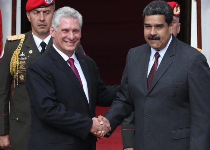 Borges Maduro Díaz-Canel