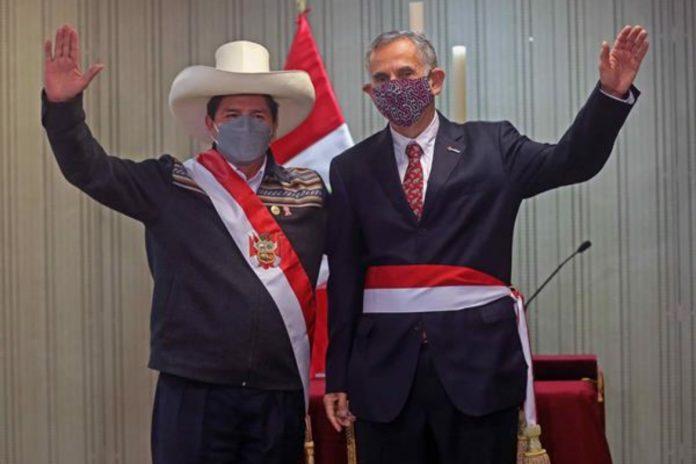 Pedro Castillo, presidente de Perú