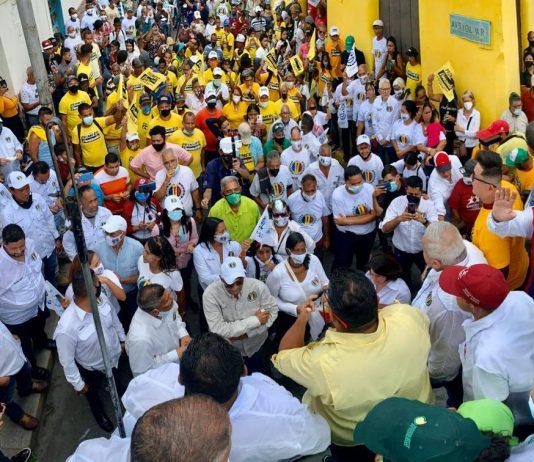 Luis Eduardo Martínez: El 21 de noviembre la Venezuela que soñamos