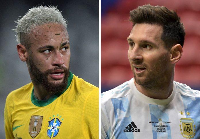 Messi, Neymar el fútbol estaba esperando