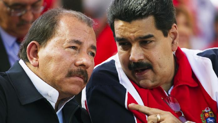 Maduro y Daniel Ortega