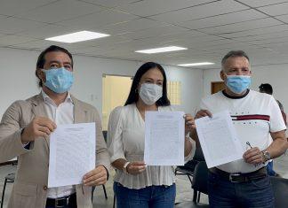 Laidy Gómez y Daniel Ceballos se medirán en primarias para la gobernación de Táchira