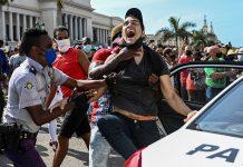 protestas de Cuba
