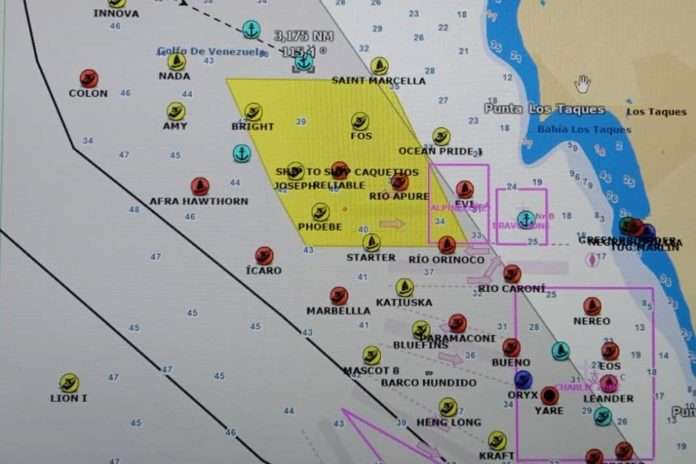 Más de 40 tanqueros llevarán petróleo y diésel desde Venezuela a otros países