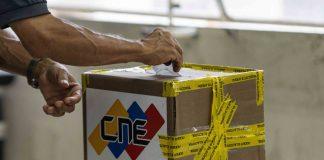 simulacro electoral-el CNE