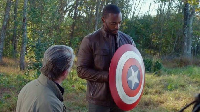 Capitán America escudo
