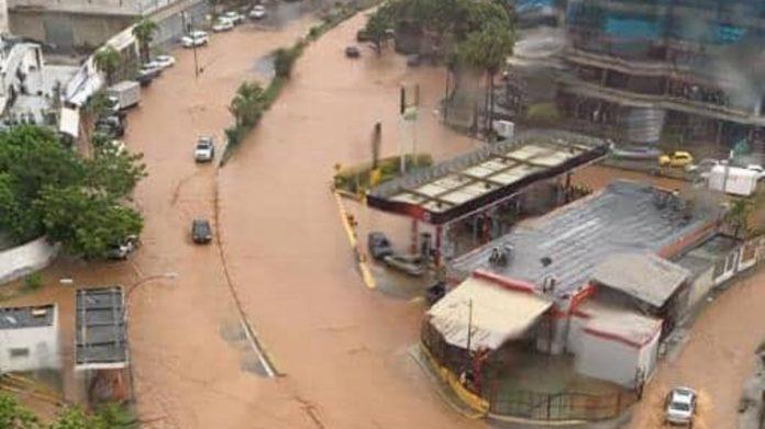 Fuertes precipitaciones, El Nacional