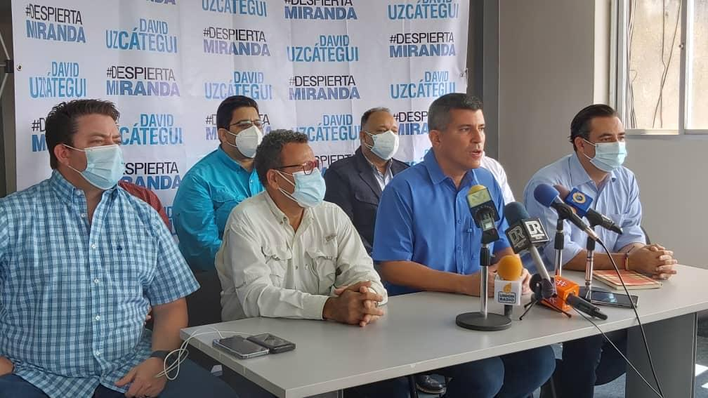 David Uzcátegui: Hago un llamado público a Carlos Ocariz a medirnos en unas elecciones primarias