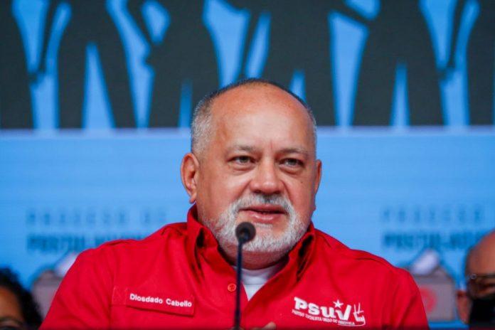 """Diosdado Cabello acusó a la oposición de planear """"sabotaje y actos de terrorismo"""" contra las primarias del PSUV"""