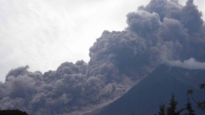 Volcán de Fuego, El Nacional