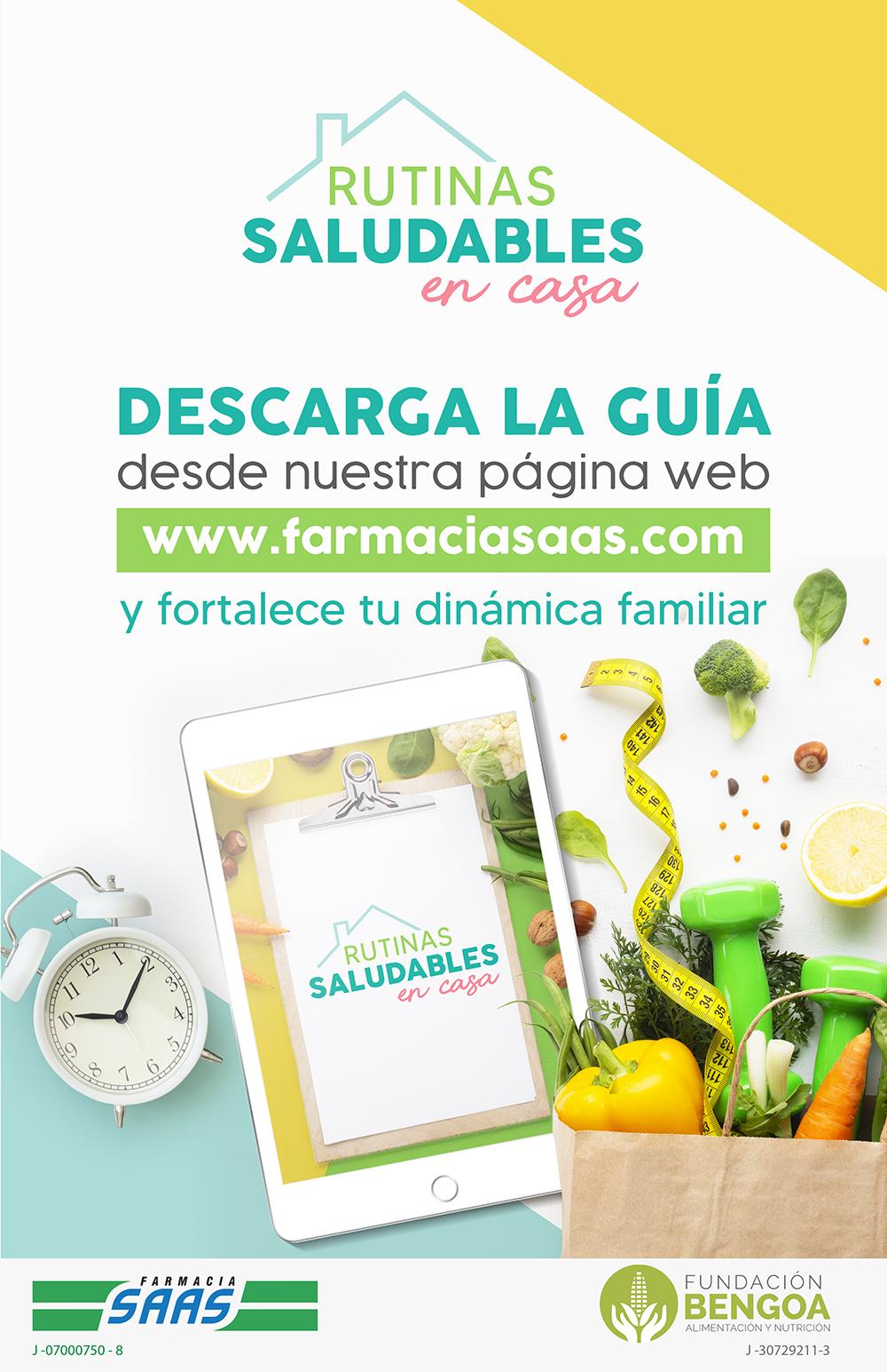 Rutinas Saludables - Farmacias SAAS