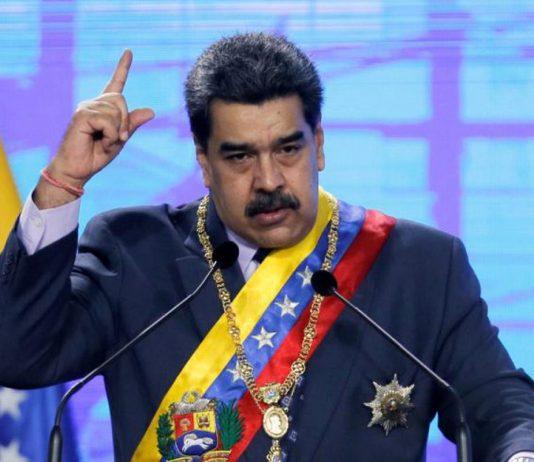 Maduro señaló a Estados Unidos de apuñalar el dialogo con la extradición de Alex Saab