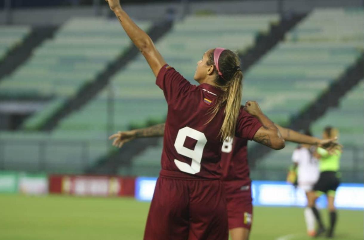 Vinotinto femenina venció 6-0 a Yaracuyanos FC en amistoso