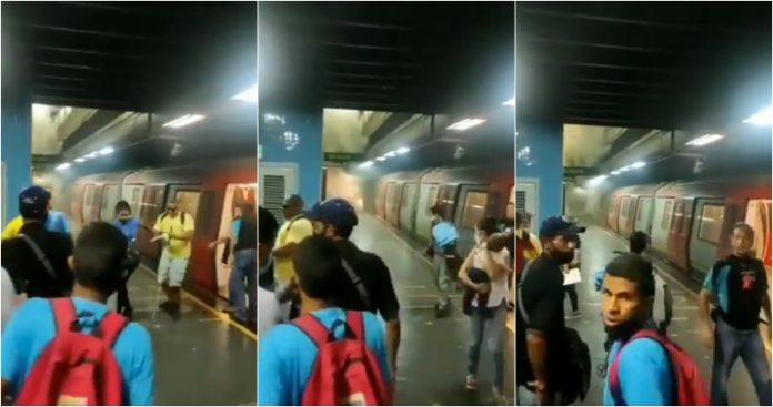 explosión Metro Los Dos Caminos