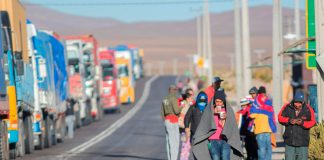 Venezolanos en Chile, oposición venezolana