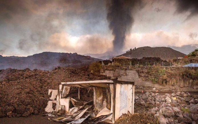 lava del volcán, El Nacional