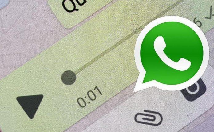 WhatsApp audio