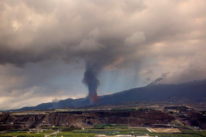volcán, La Palma