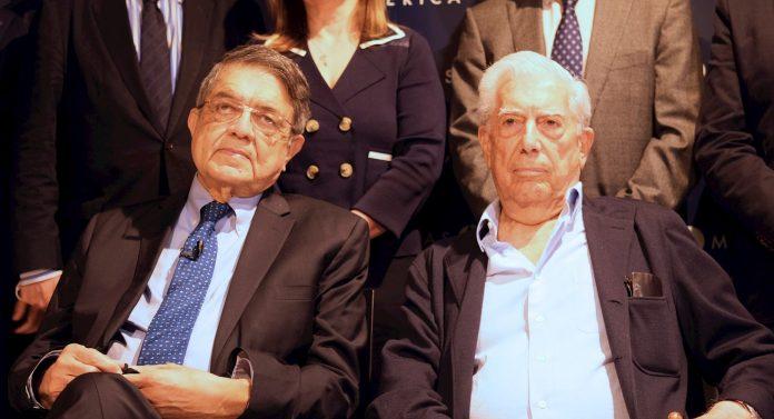 Vargas Llosa y Sergio Ramírez