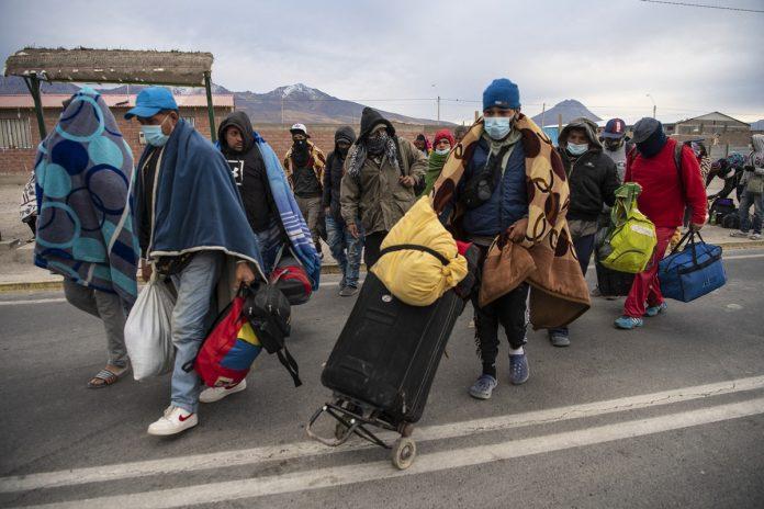 Canciller de Maduro negó la crisis migratoria venezolana