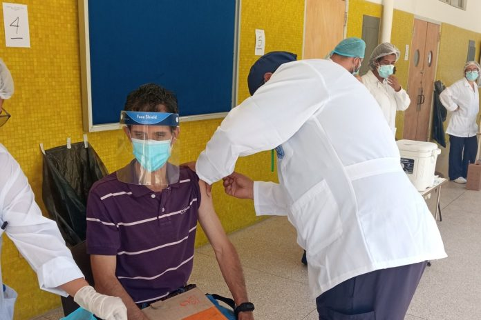 Se inició jornada de vacunación de profesores, obreros y administrativos en la UCV