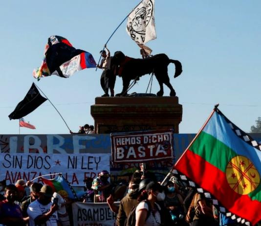 protesta en Chile, El Nacional