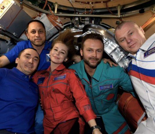 película en el espacio
