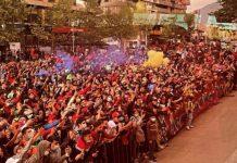 Venezolanos Chile Vinotinto