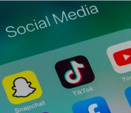 YouTube, TikTok y Snapchat