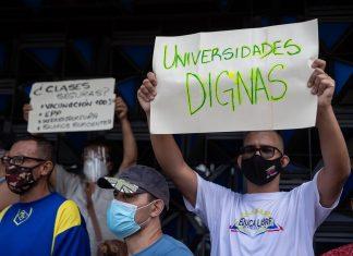 Se registraron casi 600 protestas en Venezuela durante septiembre