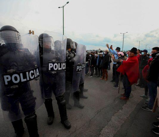 manifestaciones Ecuador